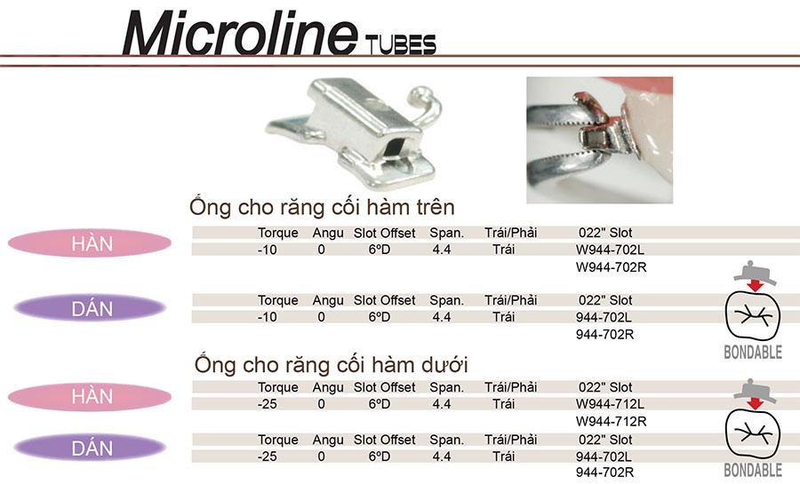 Microline Tubes