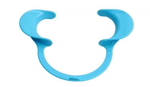 hình minh họa banh miệng màu xanh